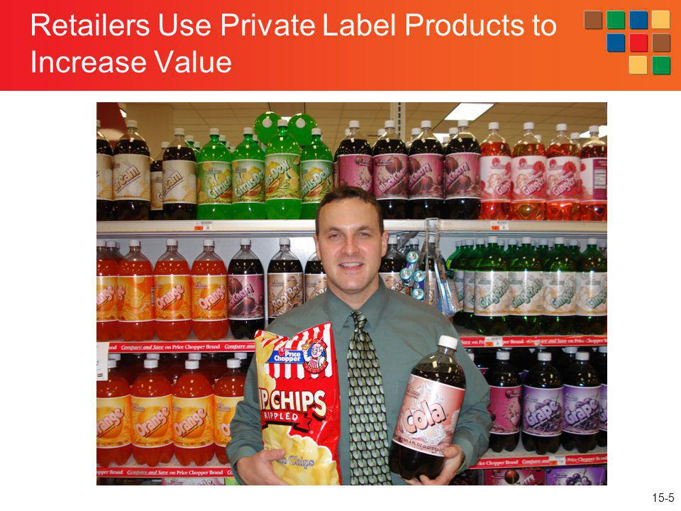 15-5 Retailers Use Private Label Products to Increase Value