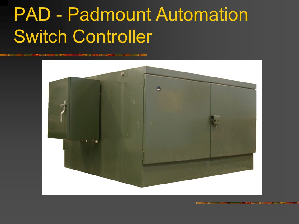 PAD - Padmount Automation Switch Controller