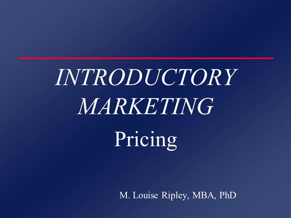 PRICING STRATEGIES DEMAND ORIENTED u Perceived Value u Demand Differential l Customer Form l Product Form l Place