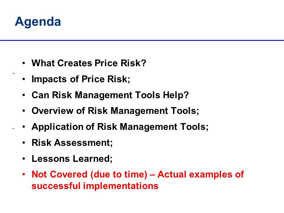 What Creates Price Risk.