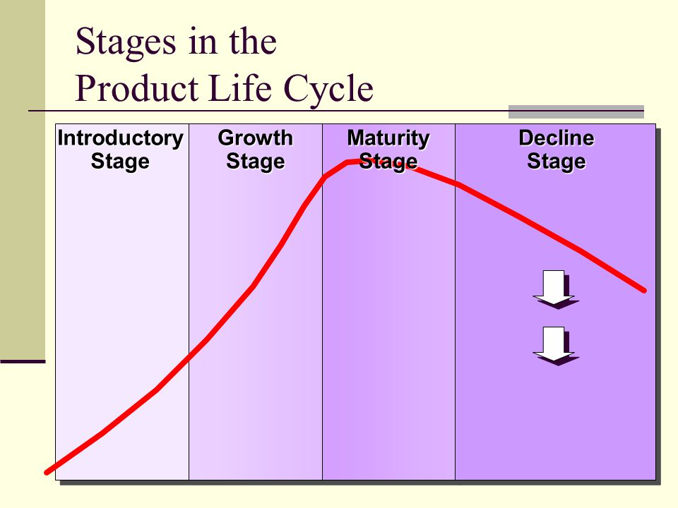 18 Stages in the Product Life CycleIntroductoryStageGrowthStageDeclineStage MaturityStage