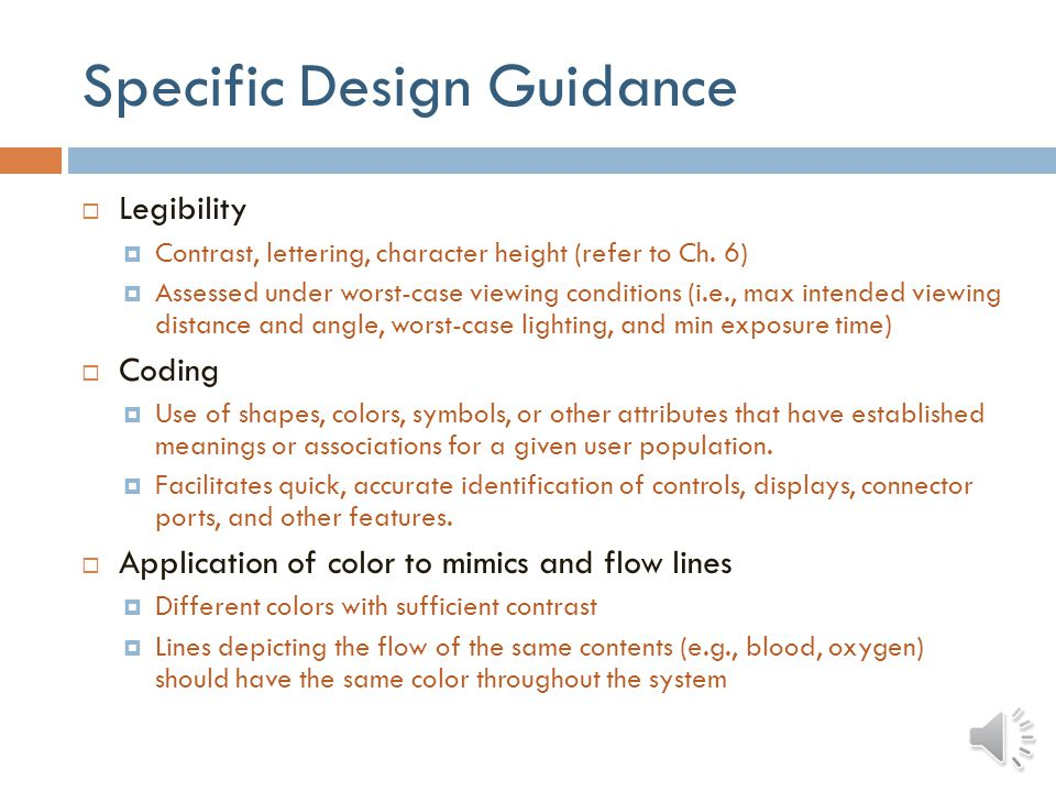 Specific Design Guidance Use of standard symbols ANSI/AAMI/IEC TIR 60878