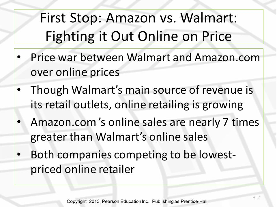 First Stop: Amazon vs.