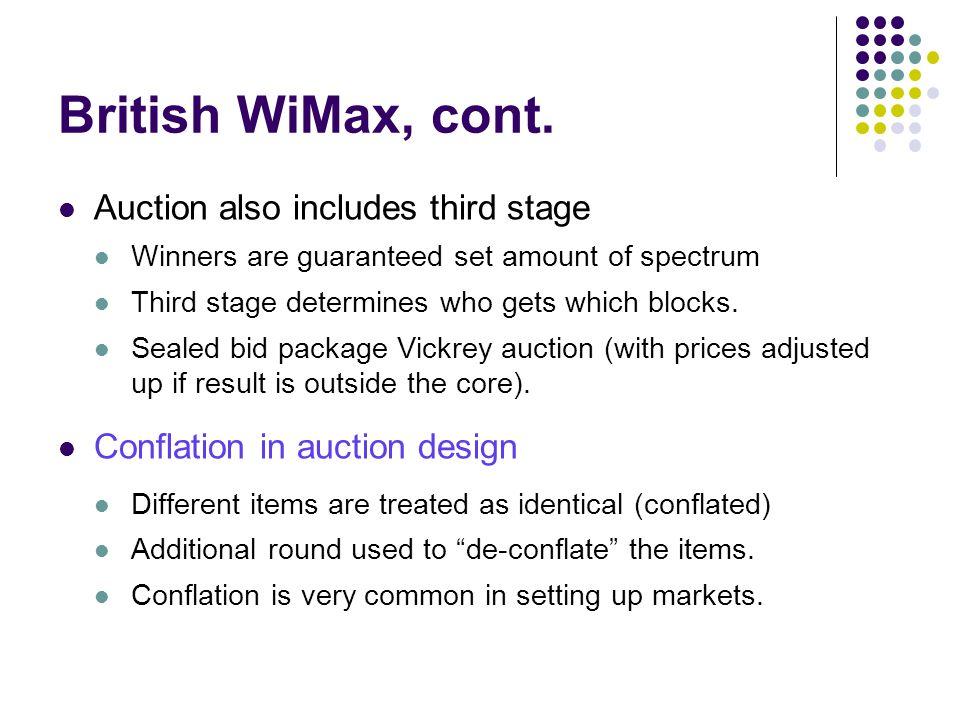 British WiMax, cont.