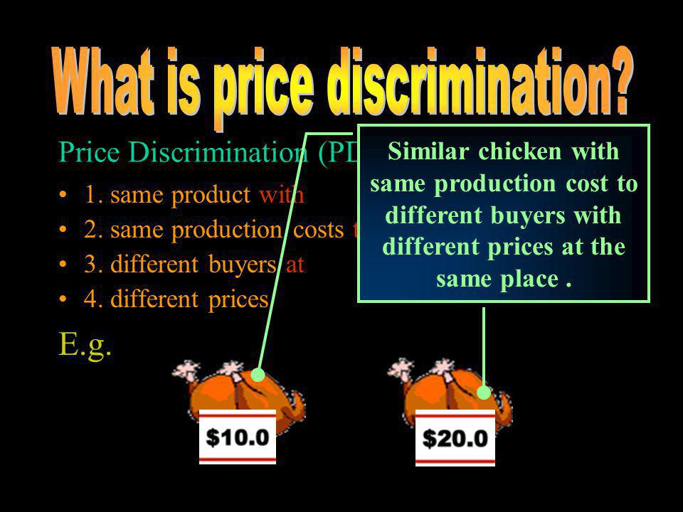 Price Discrimination Carmel Secondary School