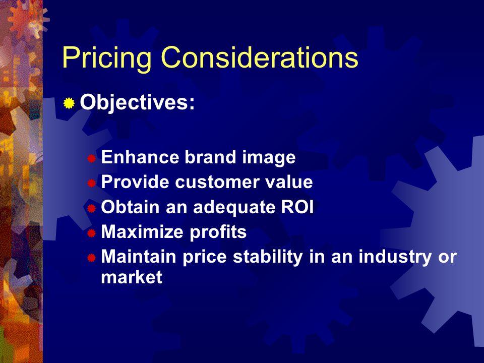 Factors Affecting Pricing Internal Factors Costs Product, Strategy Internal Factors Costs Product, Strategy Pricing Decisions Pricing Decisions External Factors Competitors Customers External Factors Competitors Customers