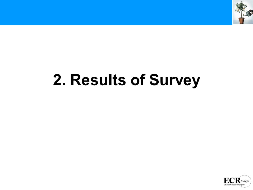 2. Results of Survey