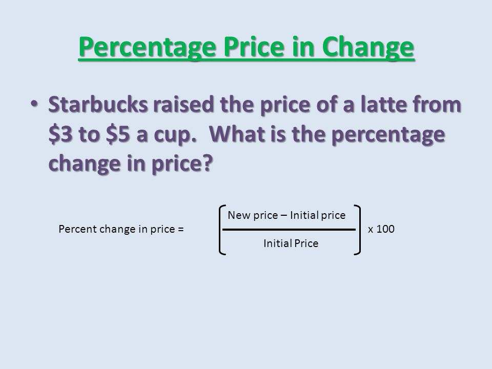 Unit Elastic Demand The percentage change in the quantity demanded equals the percentage change in price The percentage change in the quantity demanded equals the percentage change in price