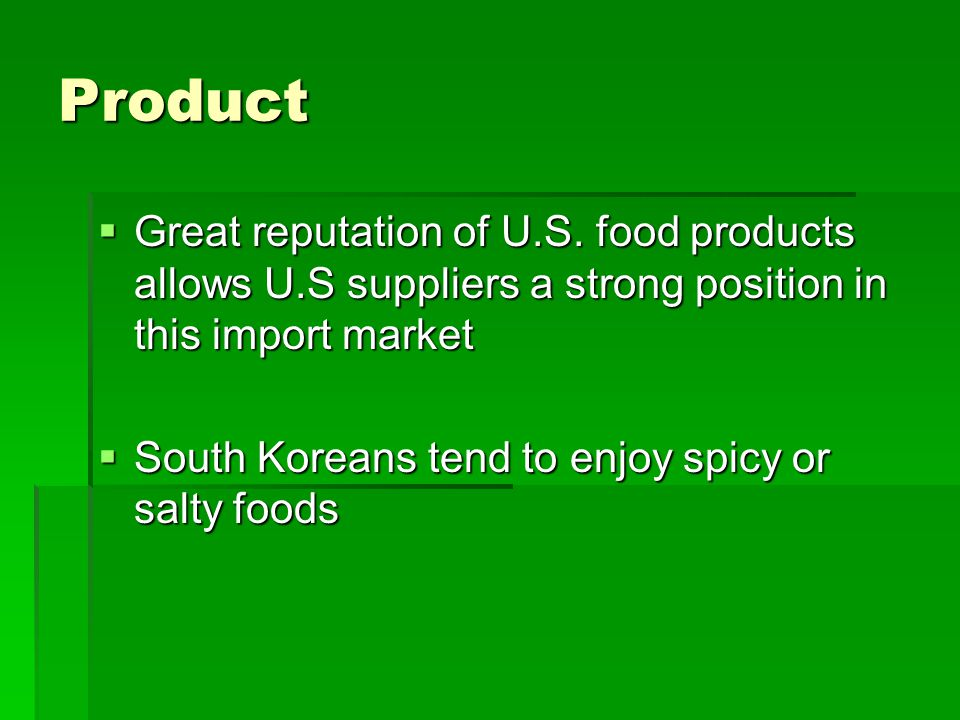 Product: Labeling Korean labeling laws Korean labeling laws Appeal of current Skippy label in a South Korean market Appeal of current Skippy label in a South Korean market
