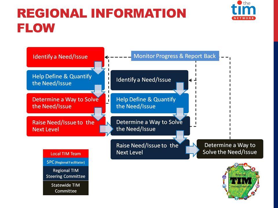 REGIONAL INFORMATION FLOW
