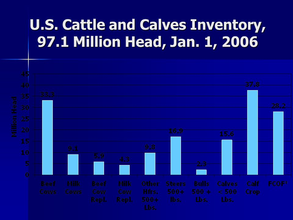 U.S.Cattle & Calves, Jan.