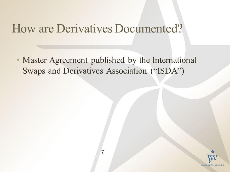 How are Derivatives Documented.