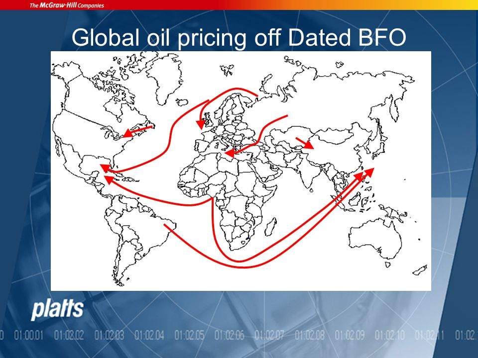 Global oil pricing off Dated BFO