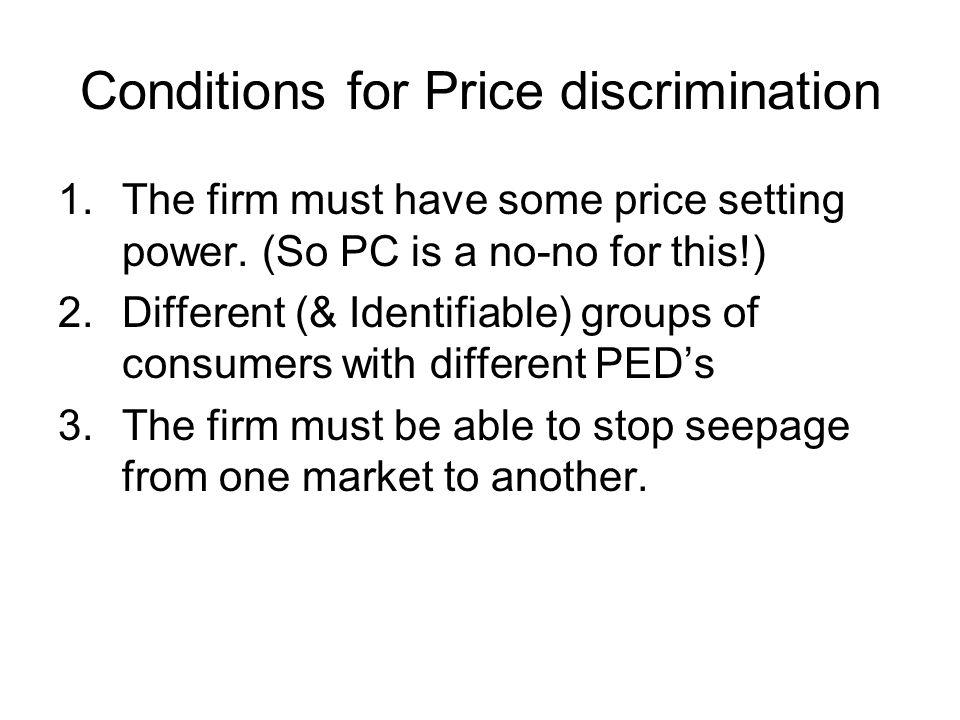 Pricing in a Monopoly LRAC = LRMC Monopoly Demand (AR) MR Q1 Revenue Cost and Profit Output (Q) D E Qc B A C