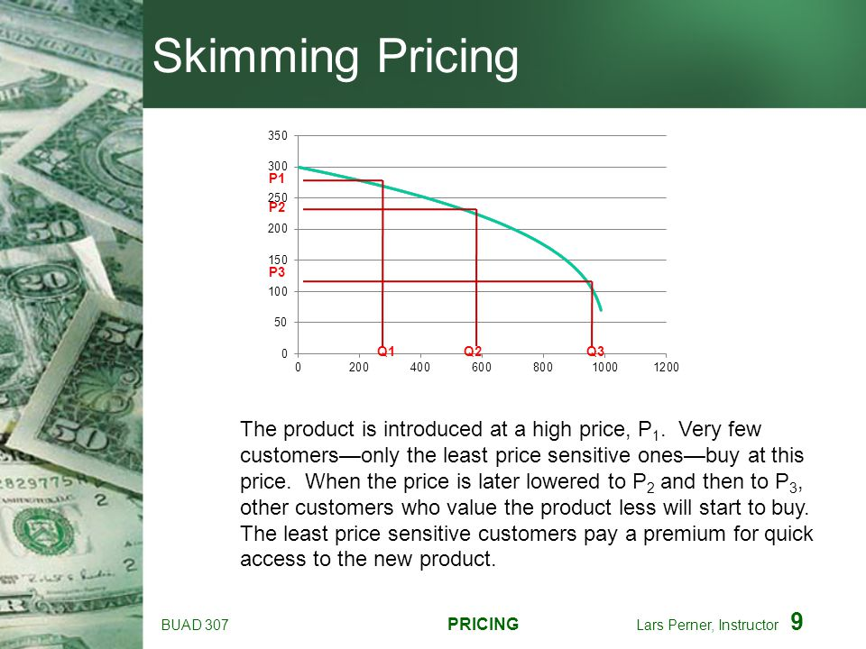 BUAD 307 PRICING Lars Perner, Instructor 20 Internal Reference Prices Consumers tend to develop some memory of prices of frequently purchased items ---> to make store prices look low, you may want to price especially salient products lower More knowledgeable consumers typically have tighter price range expectations Reference prices are constantly updated to some extent, but are hard to change upwards--certain unreasonable stimuli (prices) may be rejected as unreal Consumer reference prices tend to be lower than actual prices ---> sticker shock