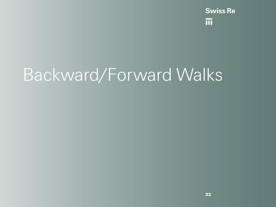 Backward/Forward Walks 33