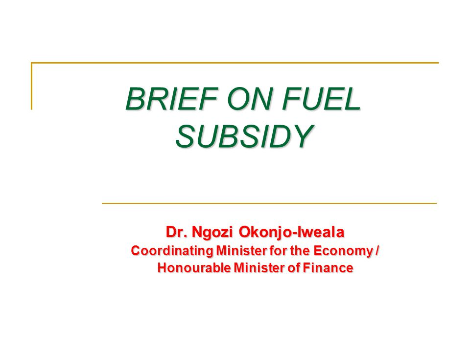 Key facts about subsidy FMF/BOF/CEAP © 2011 2 1.