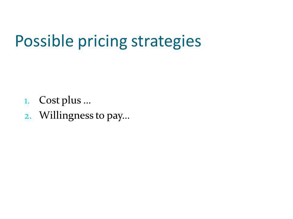 1.Identifying and adhering to both short-run and long-run pricing strategies 2.