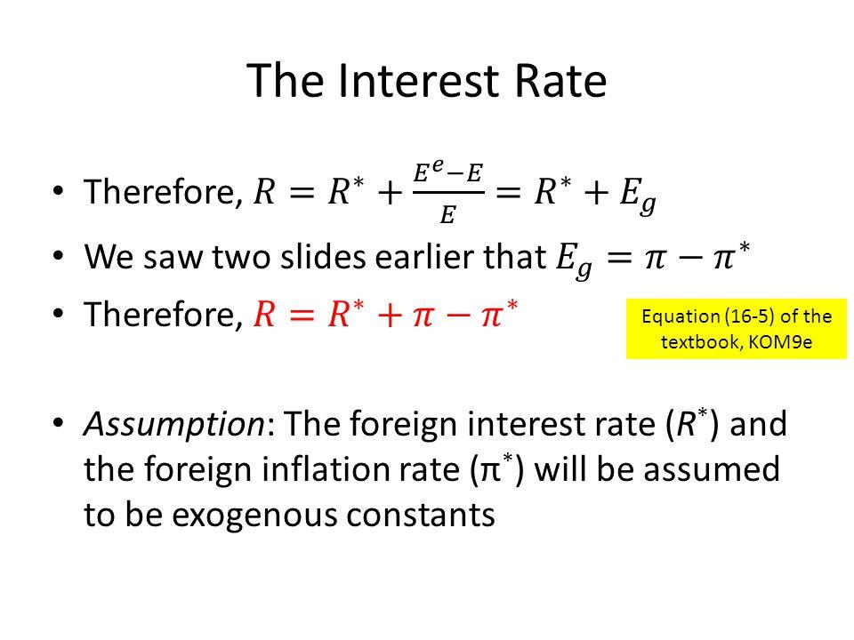 Equation (16-5) of the textbook, KOM9e