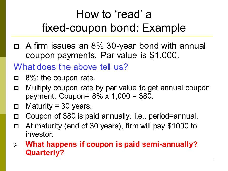 67 Summary 1.Compute the price of (a) fixed-coupon bond, b) zero-coupon bond.