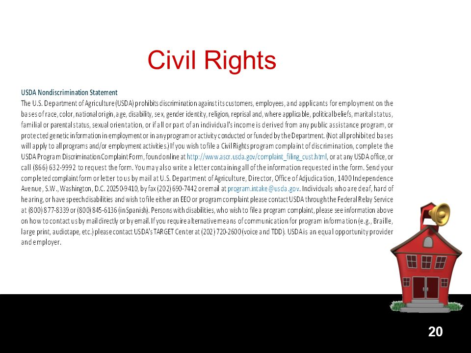 20 Civil Rights