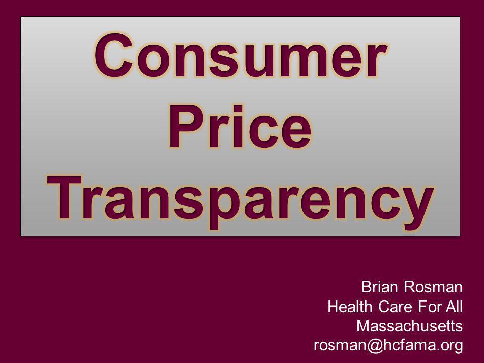 Brian Rosman Health Care For All Massachusetts rosman@hcfama.org