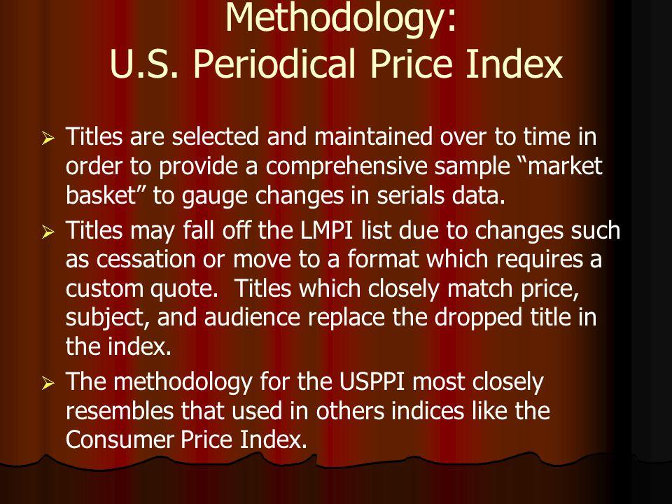 Methodology: U.S.