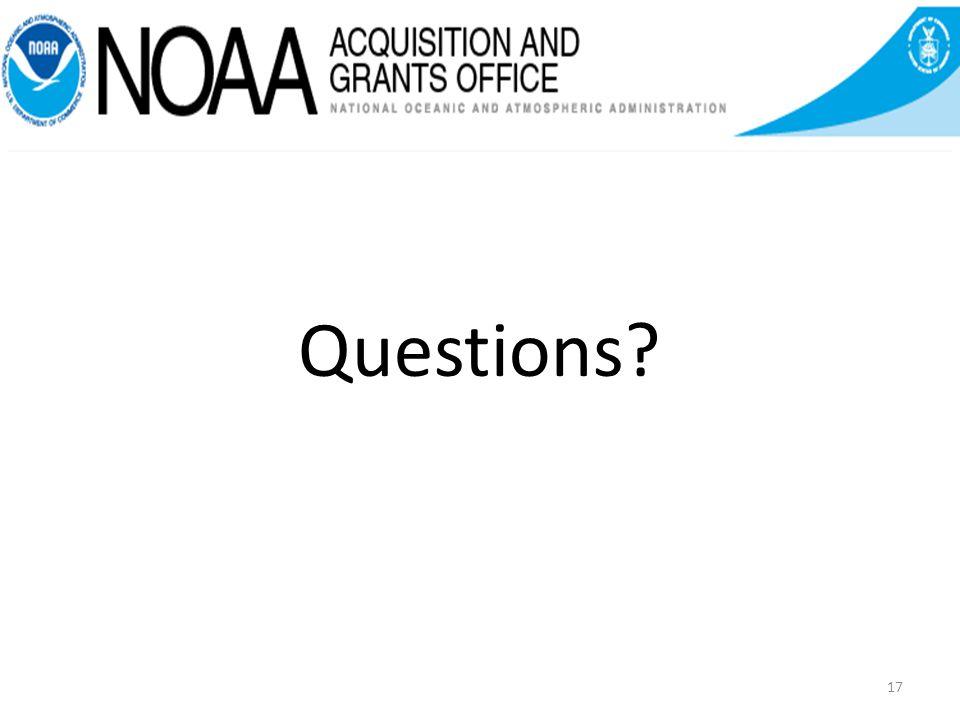 Questions? 17