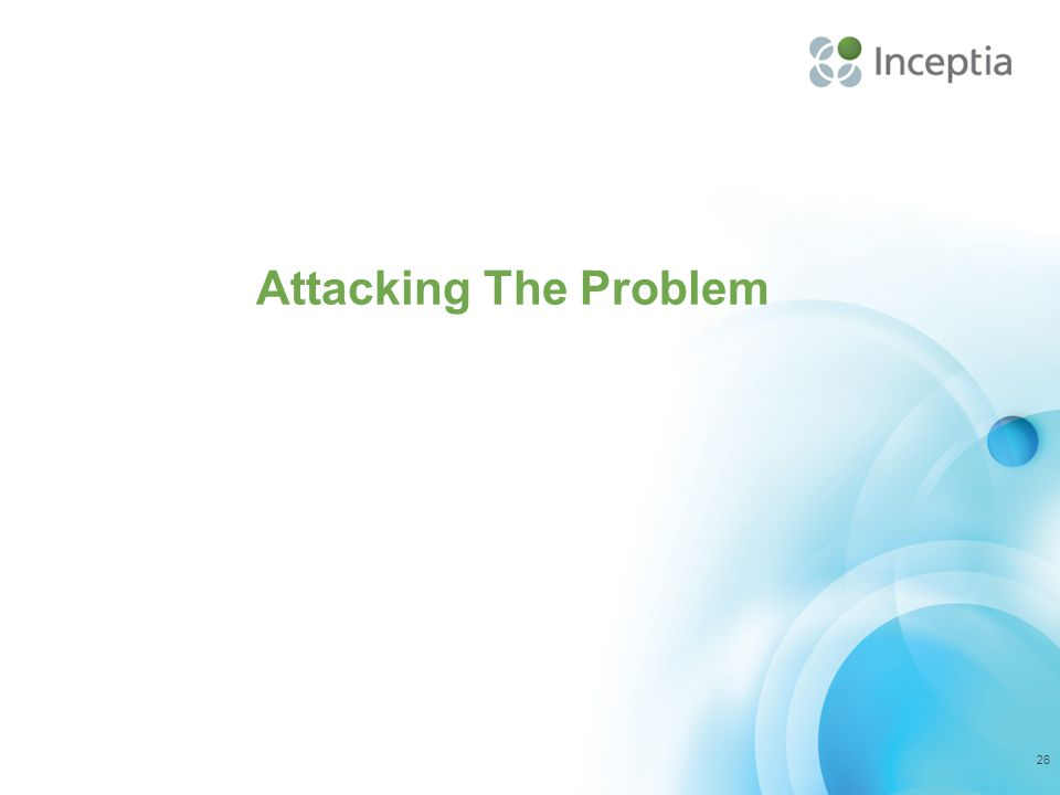 Attacking The Problem 26