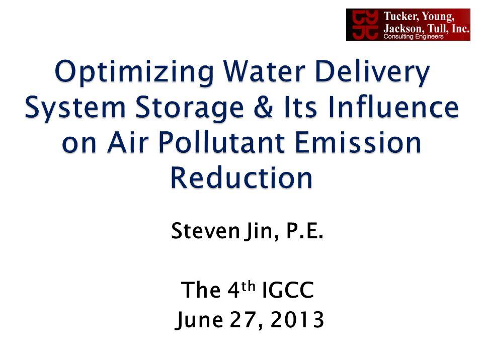 Steven Jin, P.E. The 4 th IGCC June 27, 2013