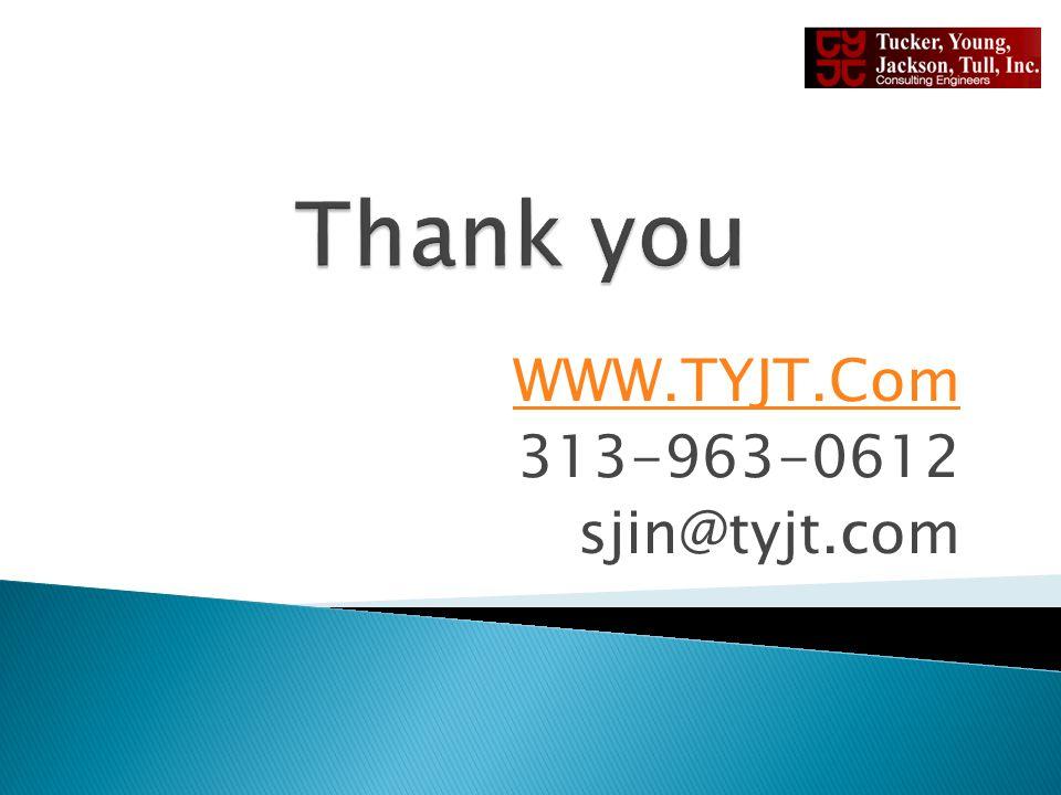 WWW.TYJT.Com 313-963-0612 sjin@tyjt.com