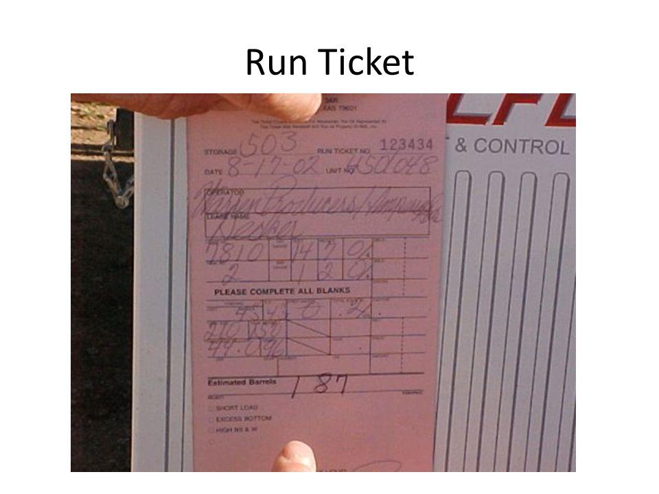 Run Ticket