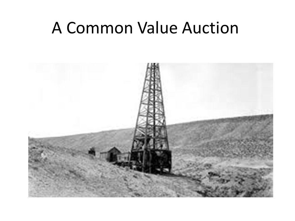 A Common Value Auction
