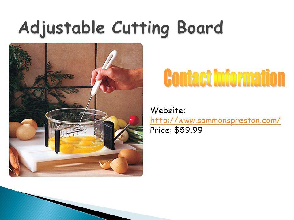 Website: http://www.sammonspreston.com/ Price: $59.99