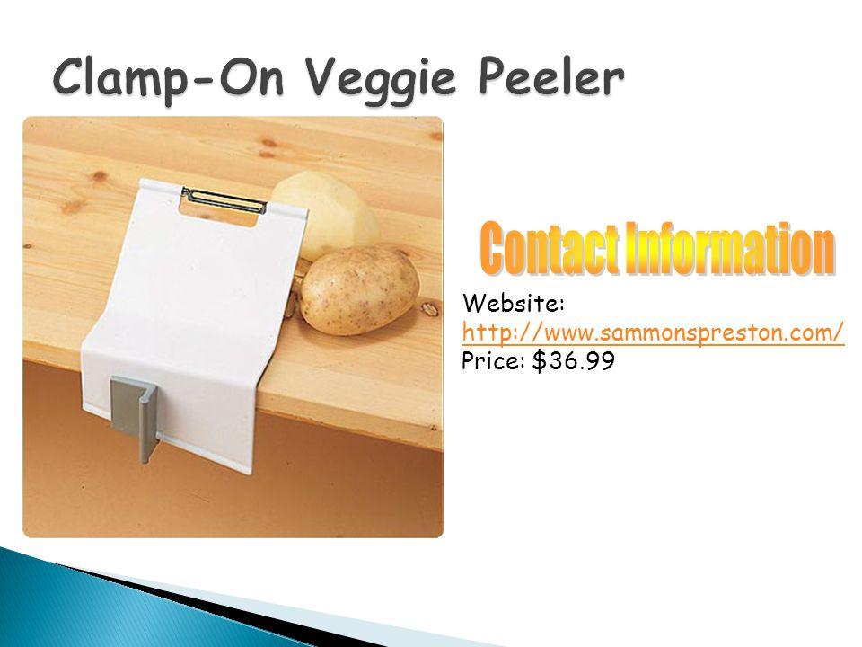 Website: http://www.sammonspreston.com/ Price: $36.99