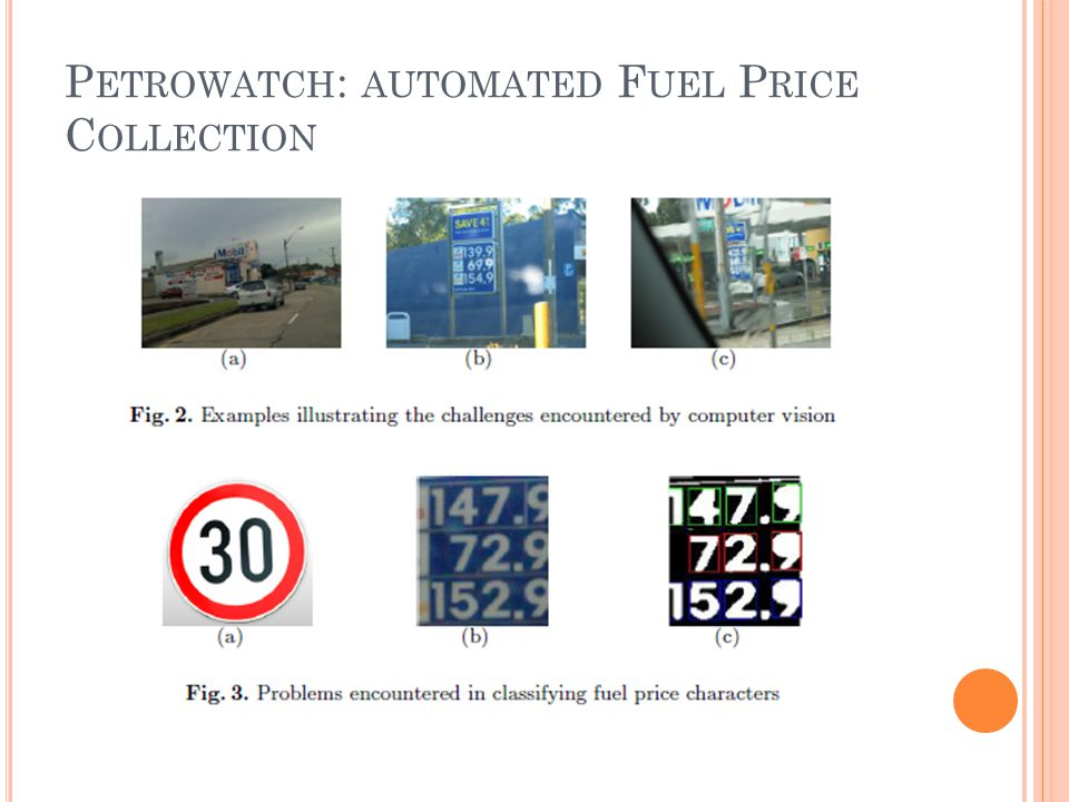 P ETROWATCH : AUTOMATED F UEL P RICE C OLLECTION
