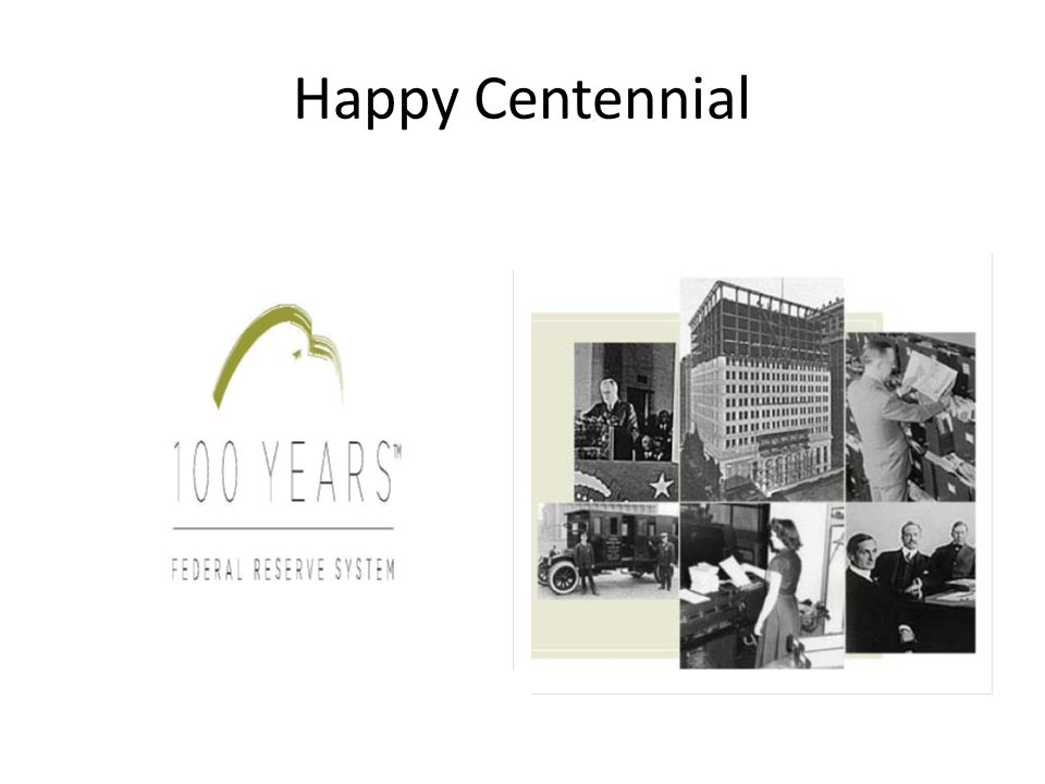Happy Centennial