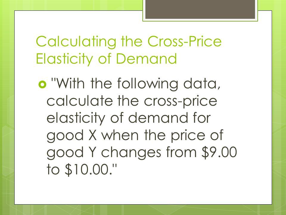 Price(OLD)=9 Price(NEW)=10 QDemand(OLD)=150 QDemand(NEW)=190