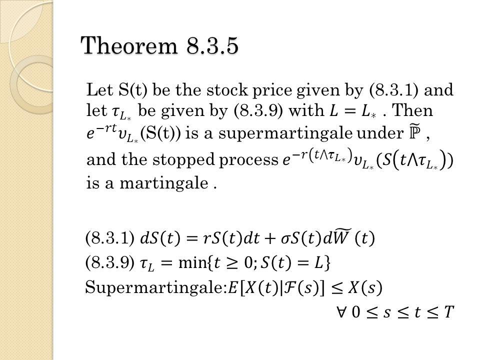 Theorem 8.3.5