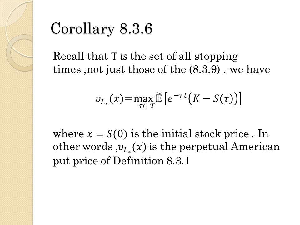 Corollary 8.3.6