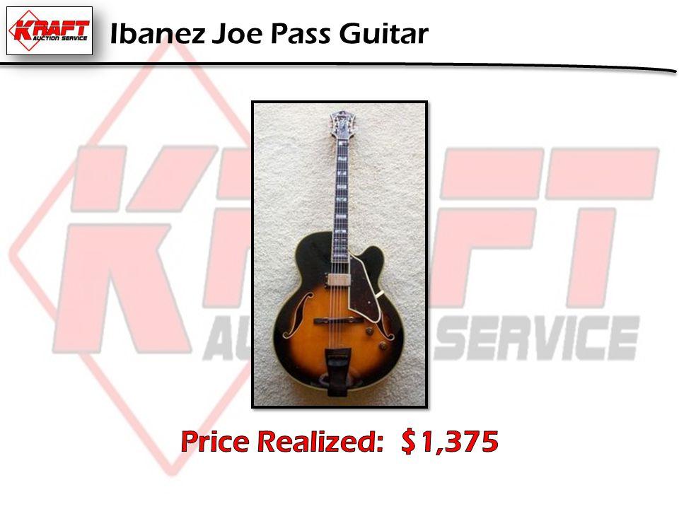 Ibanez Joe Pass Guitar