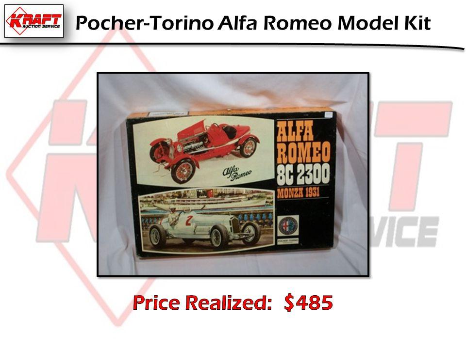 Pocher-Torino Alfa Romeo Model Kit
