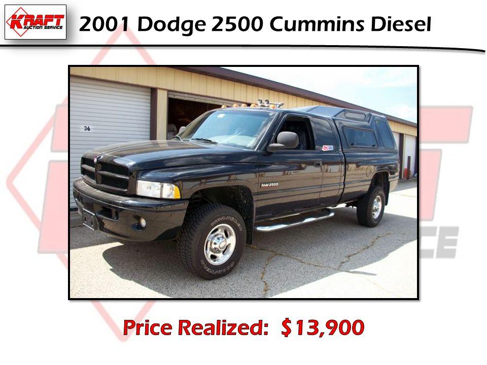 2001 Dodge 2500 Cummins Diesel
