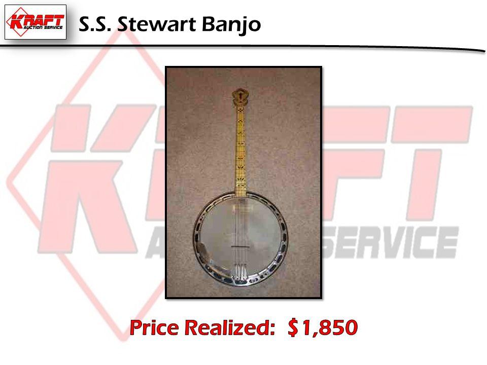S.S. Stewart Banjo