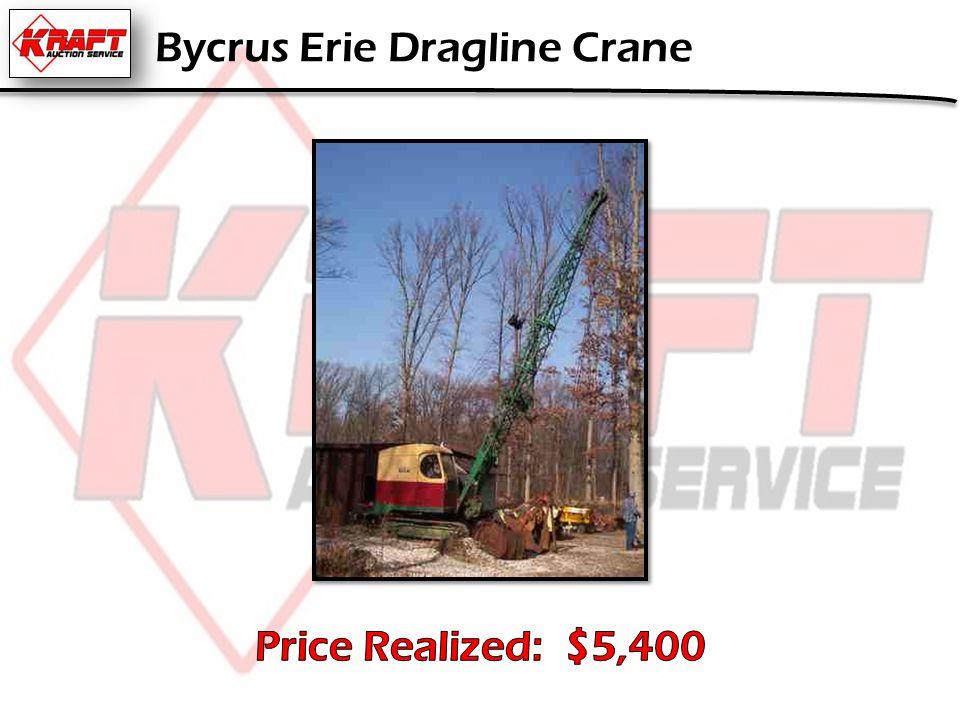 Bycrus Erie Dragline Crane