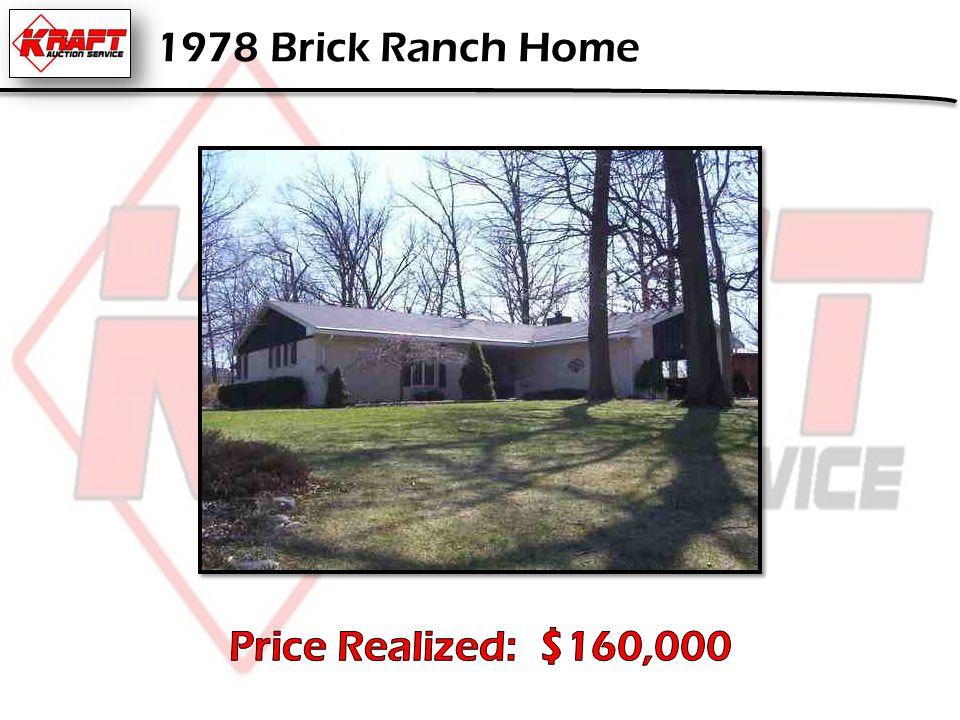 1978 Brick Ranch Home