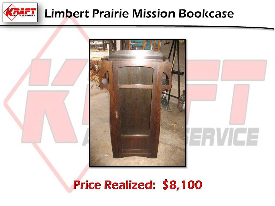 Limbert Prairie Mission Bookcase