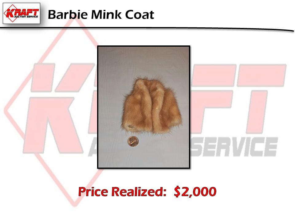 Barbie Mink Coat