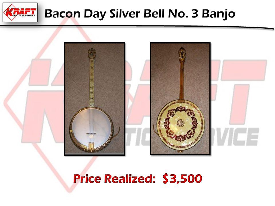 Bacon Day Silver Bell No. 3 Banjo