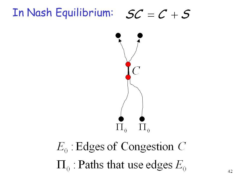 42 In Nash Equilibrium: